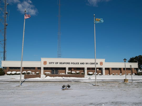 View of the City of Seaford Police and 911 Center.