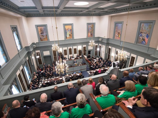 Governor John Carney gives his State of the State Address