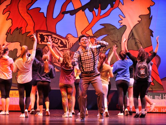 """Redwood High school production of """"Seussical the Musical"""" at L. J. Williams on January 25, 2018."""