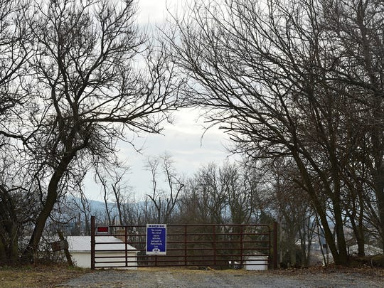 Mountain Valley Riders Club, 7591 Mentzer Gap Road, photographed Monday, Jan. 29, 2018, faces obstacles in selling the Qunicy Township property.