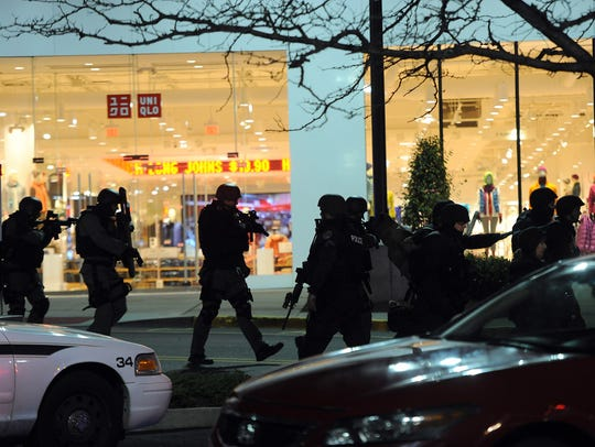 Garden State Plaza shooting, November 4, 2013.