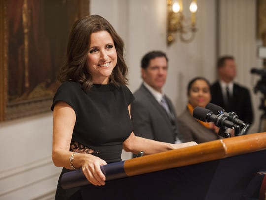 """Julia Louis-Dreyfus has won six Emmys for her portrayal of politician Selena Meyer in HBO's """"Veep."""""""