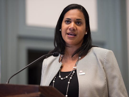 Dr. Kara Odom Walker, secretary of the Delaware Department of Health and Social Services, has urged those suffering from addiction to seek treatment as soon as possible.