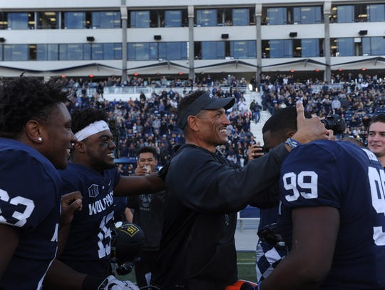 Nevada beat UNLV at home last season but did so in