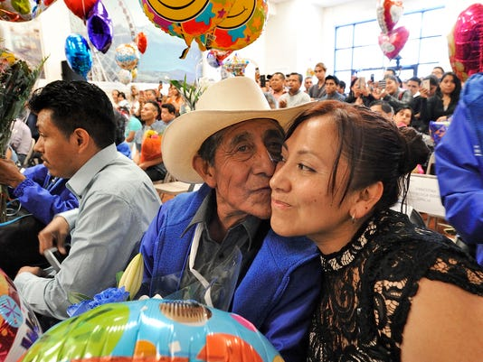 Mexican immigrants in Passaic reunite with family from mexico