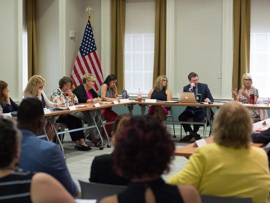 Behavioral Health Consortium meeting at the Public