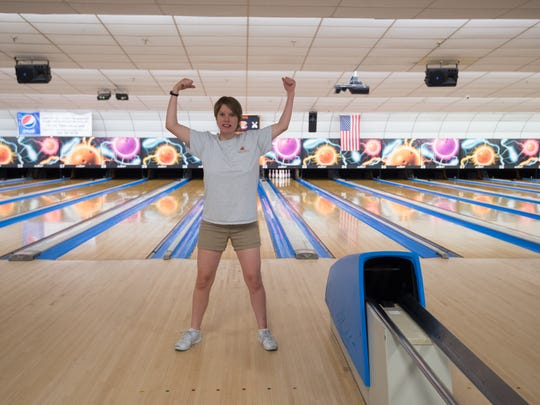 Sara Giles of Wilmington, who will be competing with her teammates in bowling at the 2018 Special Olympics USA Games July 1-6 in Seattle, is the biggest cheerleader for Team Delaware, her coach said.