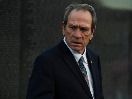 "Tommy Lee Jones stars in ""Shock and Awe."""