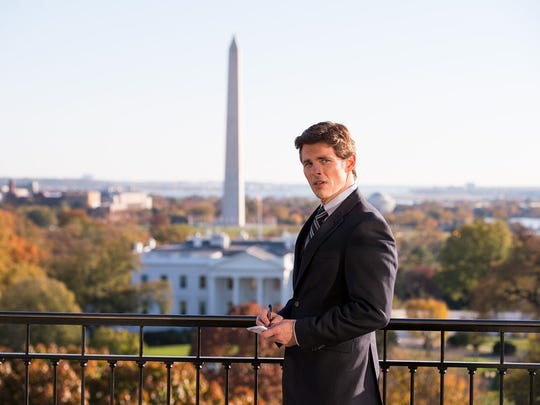 """James Marsden stars in """"Shock and Awe."""""""