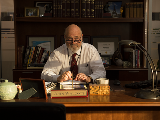 "Rob Reiner directs and stars in ""Shock and Awe."""