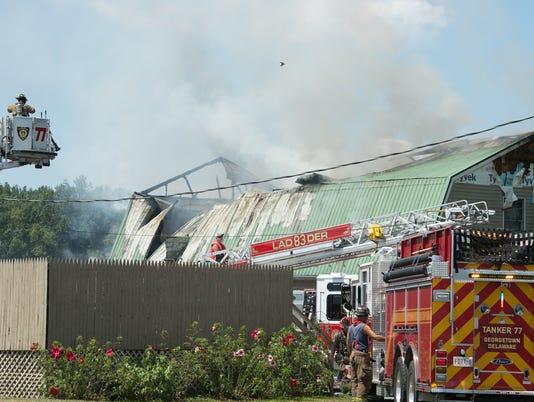 News: Structural fire
