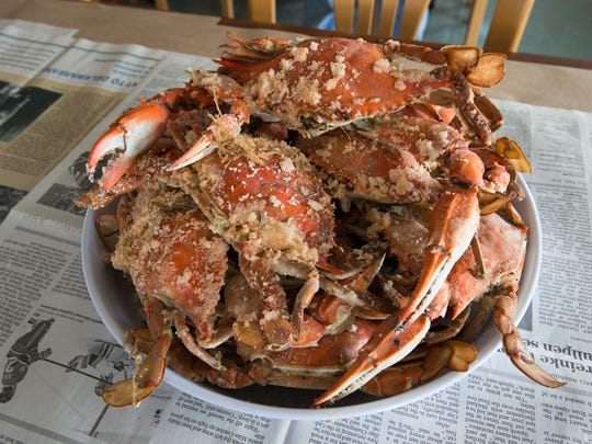 What to order at Sambo's? Crabs, crabs, crabs. If you're lucky you'll get a window seat and can watch watermen pull up and unload their catches.