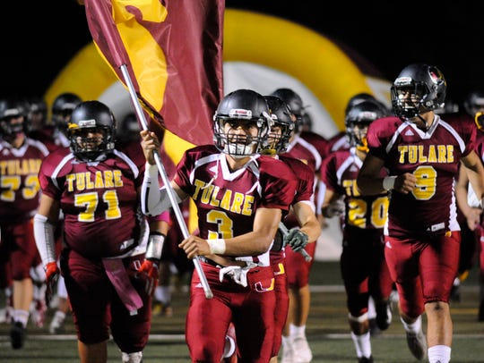 Tulare Union host Mission Oak during a East Yosemite