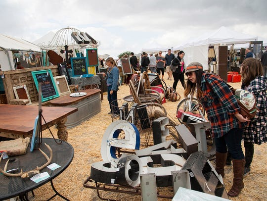 The scene at a previous Big Heap vintage festival.