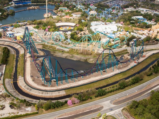 The Mako Hypercoaster will open at SeaWorld Orlando