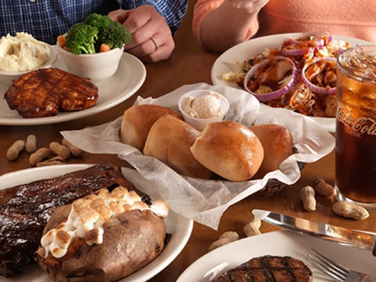 Bread made in the restaurant is featured at Texas Roadhouse.