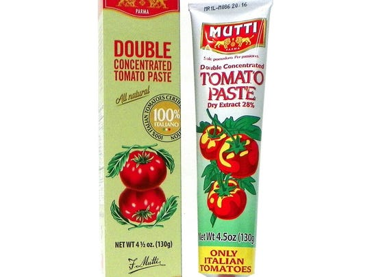 Is this in your pantry? Tomato paste in a tube definitely should be.