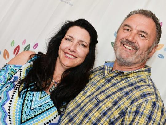 Michelle Miller and Gary Morris at the Sunrise Theatre