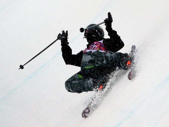 Men's freestyle skiing in Sochi