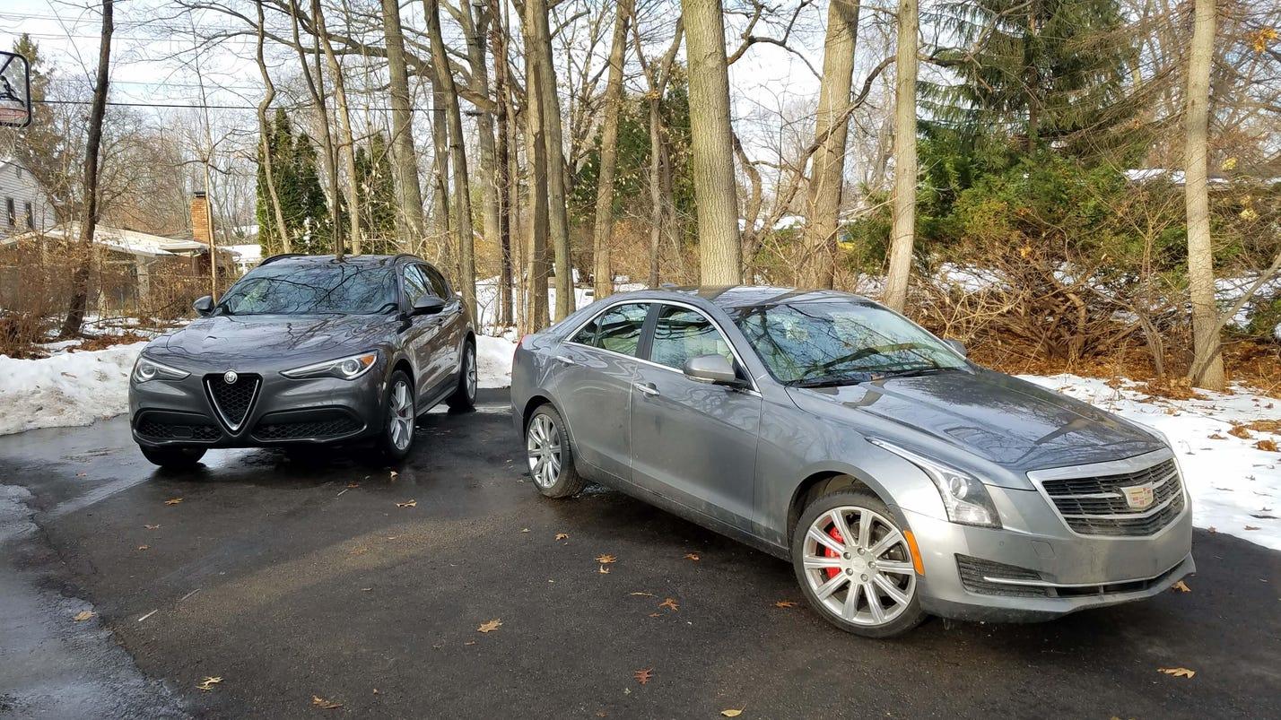 Alfa Stelvio sport ute vs. Cadillac ATS sport sedan