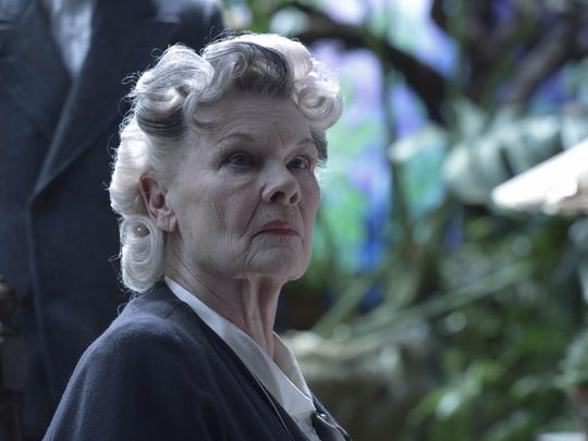 """Judi Dench portrays Miss Avocet in a scene from, """"Film Review Miss Peregrine's Home for Peculiar Children."""""""