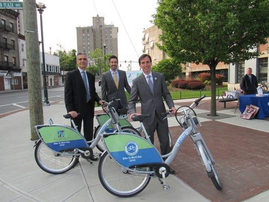 New Rochelle bike share program