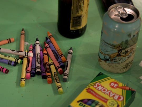 Come color with us on Feb. 4.