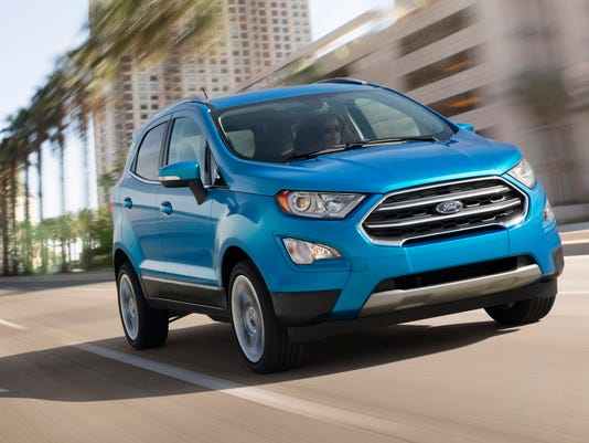 Ford's new EcoSport SUV will be imported from India on ford ranger, ford suv, ford fusion, ford everest, ford c-max, ford econoline, ford figo, ford galaxy, ford escape, ford fiesta, ford explorer, ford ka, ford excursion, ford mondeo, ford flex, ford endeavour, ford gt, ford focus, ford edge, ford mustang,