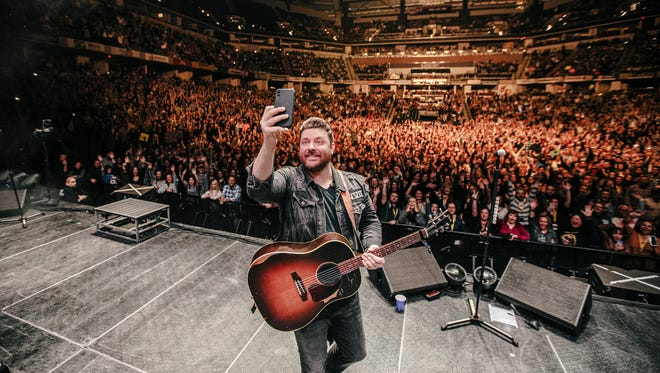 """Since hitting the road in January with his """"Losing Sleep"""" 2018 World Tour, Chris Young has been met with sold-out crowds."""