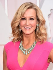 TV personality Lara Spencer  attends the 87th Annual Academy Awards at Hollywood & Highland Center on February 22, 2015 in Hollywood, California.