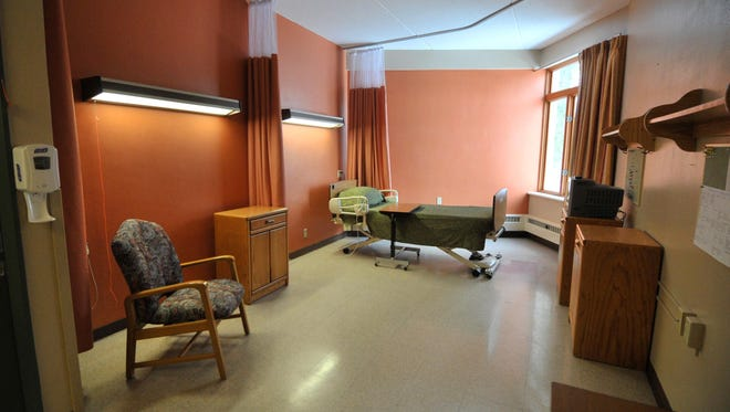 A vacant unit at North Central Health Care's Mount View Care Center in Wausau.