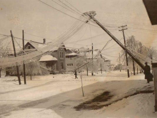 1922 Manitowoc ice storm