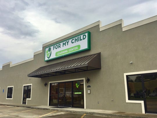 For My Child Learning Center is opening March 6 in Lafayette.