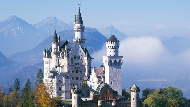 Neuschwanstein Castle in Hohenschwangau, Germany, lost its top billing as Germany's most popular tourist attraction to Europa Park, an amusement park in Rust.