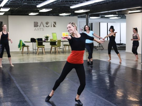 Basin Arts offers adult dance classes for beginners