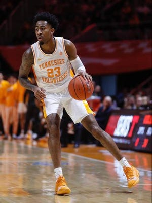 Jordan Bowden scored 17 points, including a pair of free throws with five seconds remaining, to help Tennessee to a 65-61 win Tuesday night over visiting Vanderbilt.