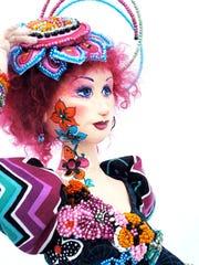 Katie Jones's handmade art dolls