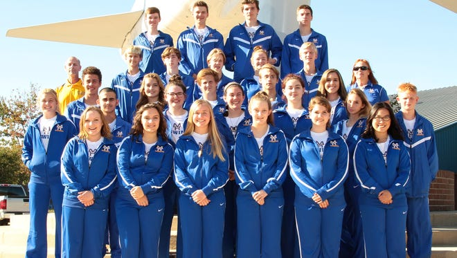 2017-18 Mountain Home Bomber and Lady Bomber swim teams