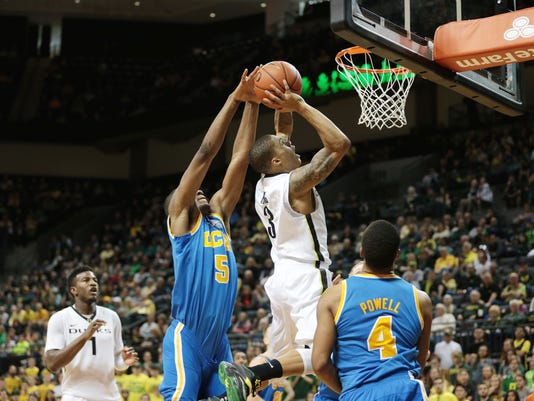 NCAA Basketball: UCLA at Oregon