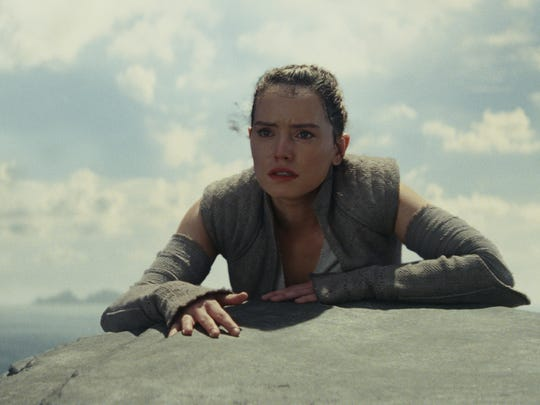 """""""Star Wars: The Last Jedi"""" is out on DVD Tuesday."""