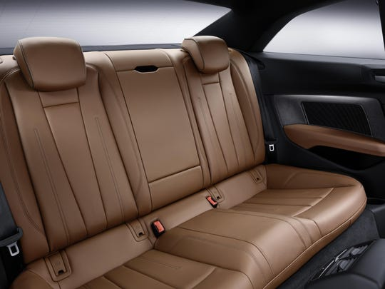 2018 Audi A5 Coupe interior