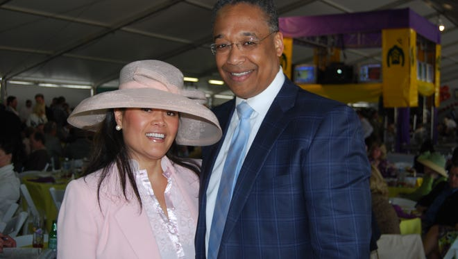 Clyde Gray and his wife Kalena Gray.