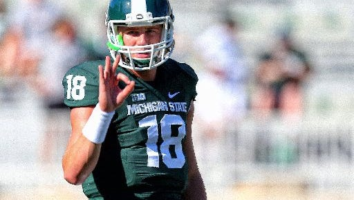 Michigan State's Connor Cook could be the first quarterback taken in next year's NFL draft.