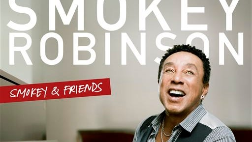 """This CD cover image released by Verve shows """"Smokey & Friends,"""" by Smokey Robinson. (AP Photo/Verve)"""