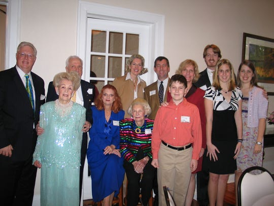 Lillian Cox's family flew in from all over to celebrate
