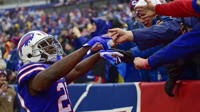 Bills players will be on their own to celebrate touchdowns for at least the first two home games.