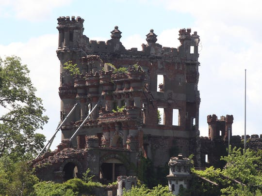 Bannerman's Castle on Pollepel Island, also known as Bannerman Island June 20, 2017.