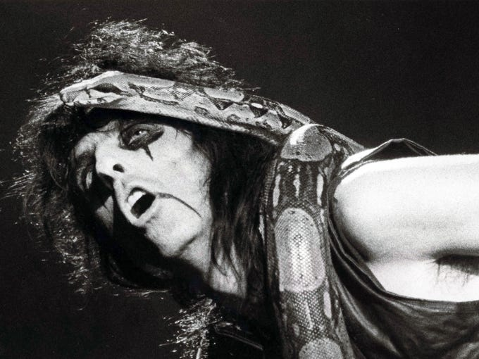 Alice Cooper | Originally Alice referred to the band,