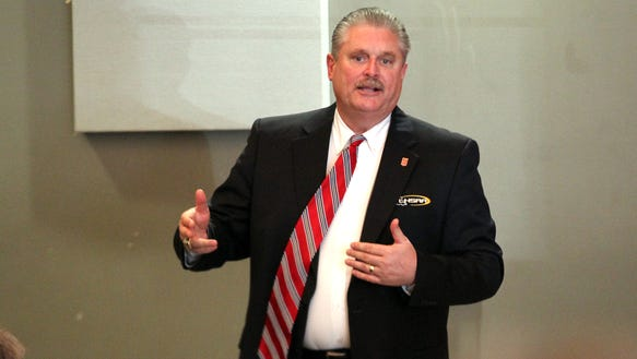 Eddie Bonine, the incoming executive director of the