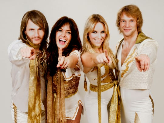 ABBA tribute band ARRIVAL